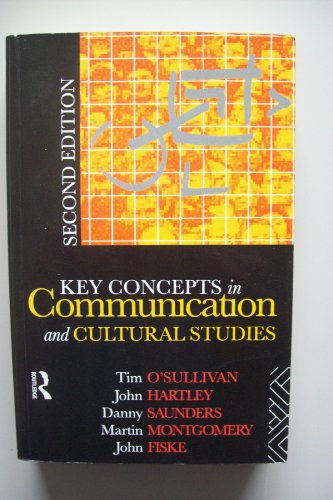 9780415061735: Key Concepts in Communication and Cultural Studies (Studies in Culture and Communication)