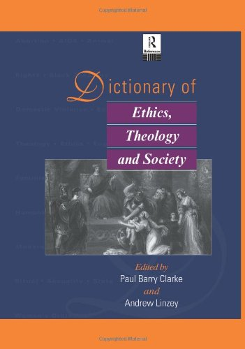 9780415062121: Dictionary of Ethics, Theology and Society (Routledge Reference)
