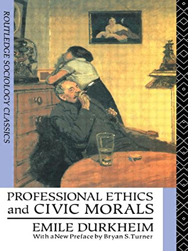 9780415062251: Professional Ethics and Civic Morals (Routledge Classics in Sociology)