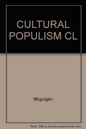 9780415062947: CULTURAL POPULISM CL