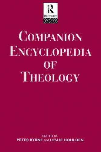 9780415064477: Companion Encyclopedia of Theology (Routledge Companion Encyclopedias)