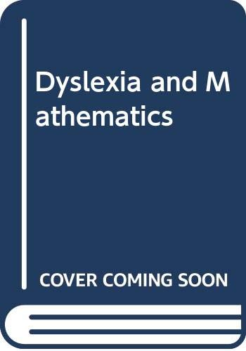 9780415064804: DYSLEXIA MATHEMATICS