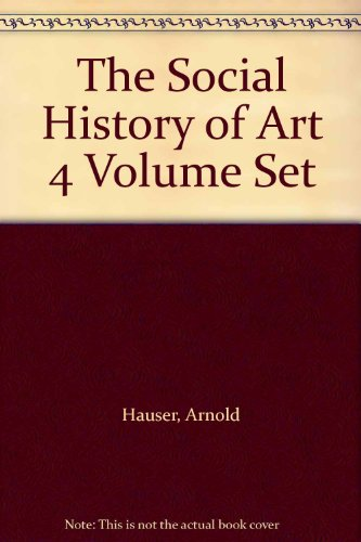 9780415065740: The Social History of Art 4 Volume Set