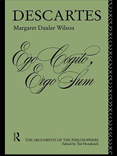 9780415065764: Descartes (Arguments of the Philosophers)