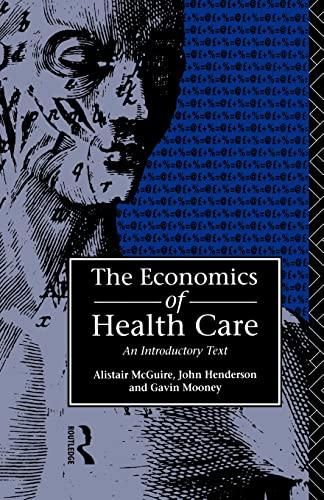 9780415065863: Economics of Health Care