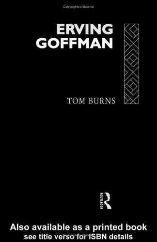 9780415067720: Erving Goffman