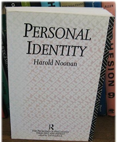 9780415070478: Personal Identity (Problems of Philosophy)