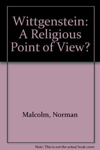 9780415070652: Wittgenstein: A Religious Point Of View?
