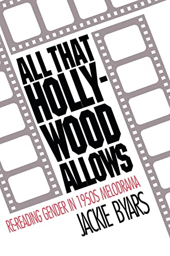 9780415071178: All that Hollywood Allows: Re-reading Gender in 1950s Melodrama