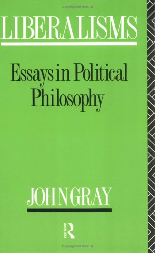 9780415071369: Liberalisms: Essays in Political Philosophy