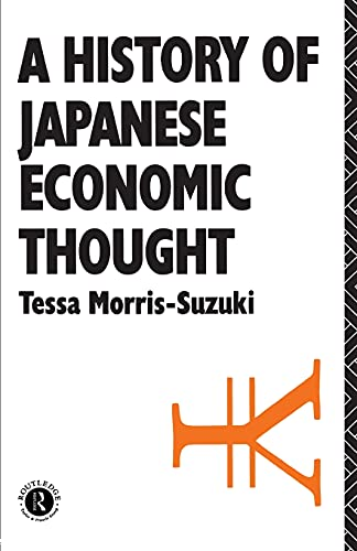 9780415071680: History of Japanese Economic Thought (Nissan Institute/Routledge Japanese Studies)