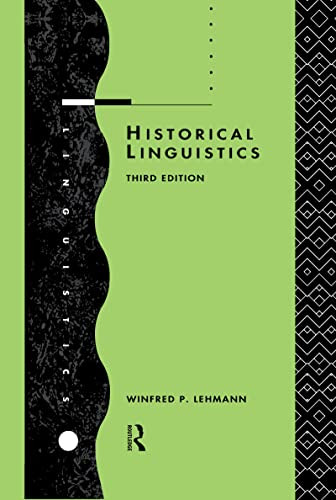 9780415072427: Historical Linguistics: An Introduction