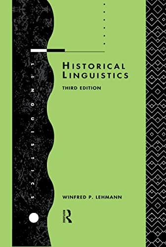 9780415072427: Historical Linguistics: An Introduction