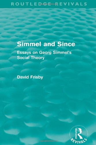 9780415072755: Simmel and Since