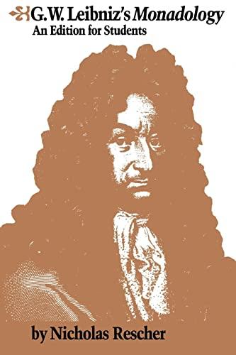 9780415072847: G.W. Leibniz's Monadology: An Edition for Students