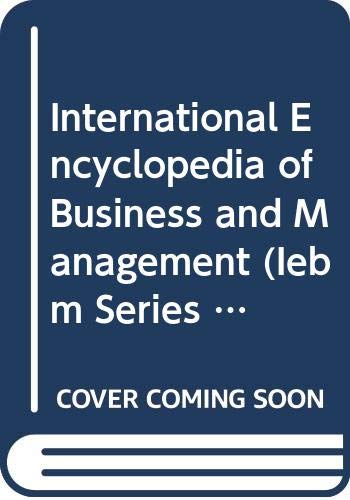 International Encyclopedia of Business Management Set (6: Warner