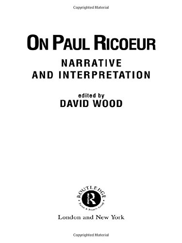 9780415074063: On Paul Ricoeur: Narrative and Interpretation (Warwick Studies in Philosophy and Literature)