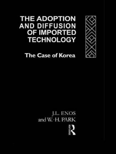 9780415075862: The Adoption and Diffusion of Imported Technology: The Case of Korea