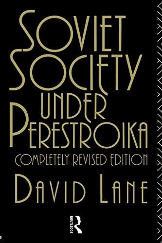 9780415076005: Soviet Society Under Perestroika (Soviet Studies)
