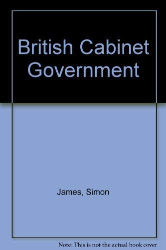 9780415076050: British Cabinet Government