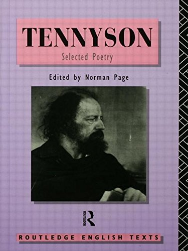 9780415077248: Tennyson: Selected Poetry (Routledge English Texts)