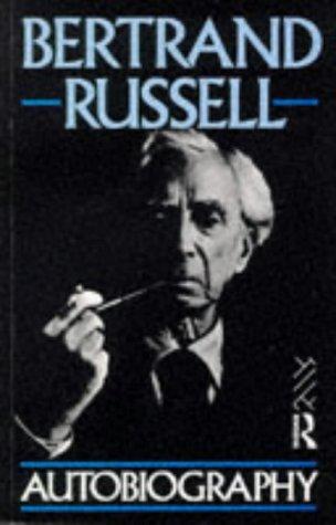 9780415078320: Bertrand Russell Autobiography