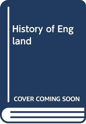 A History of England: Woodward, E. L.