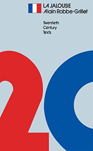 9780415078597: La Jalousie (Twentieth Century Texts)
