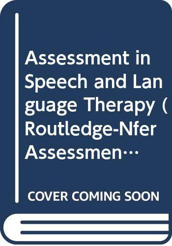 9780415078818: Assessmnt Speech & Lang Therap