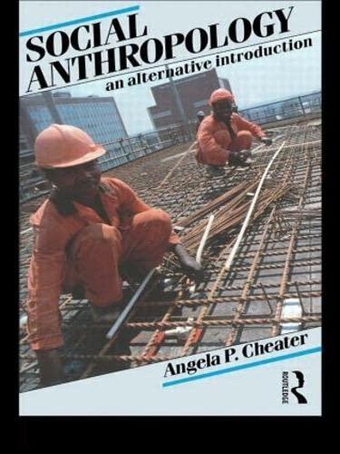 9780415078856: Social Anthropology: An Alternative Introduction
