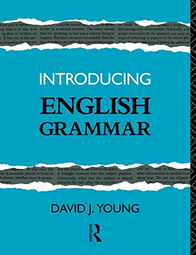 9780415078900: Introducing English Grammar