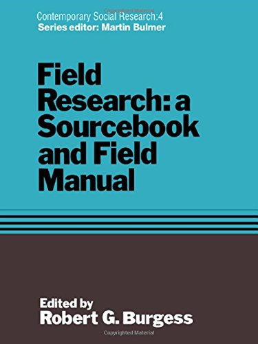 9780415078931: Field Research: A Sourcebook and Field Manual (Contemporary Social Research Series)