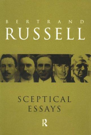 9780415079198: RC Series Bundle: Sceptical Essays (Routledge Classics)
