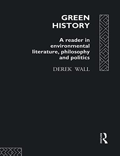 9780415079259: Green History