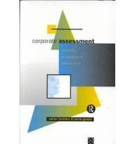 9780415081184: Corporate Assessment: Auditing a Company's Personality