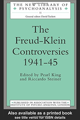 9780415082747: The Freud-Klein Controversies 1941-45 (The New Library of Psychoanalysis)