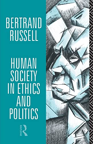 9780415083003: Human Society in Ethics and Politics