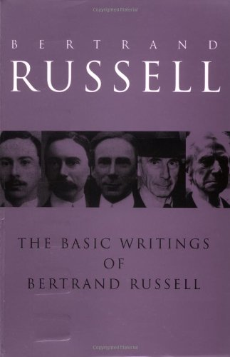 9780415083010: The Basic Writings of Bertrand Russell