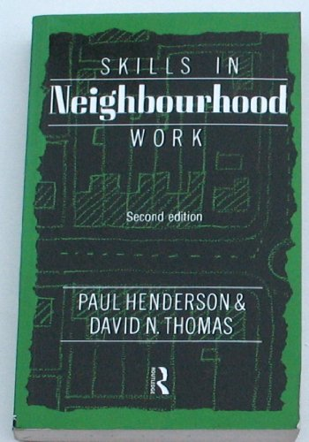 9780415083935: SKILLS IN NEIGHBOURHOOD WORK (National Institute Social Services Library)