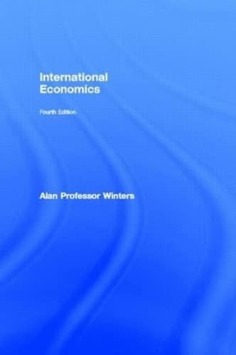 9780415084260: International Economics