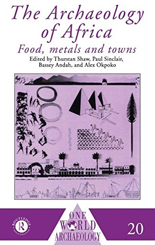 9780415084444: The Archaeology of Africa: Food, Metals and Towns (One World Archaeology)