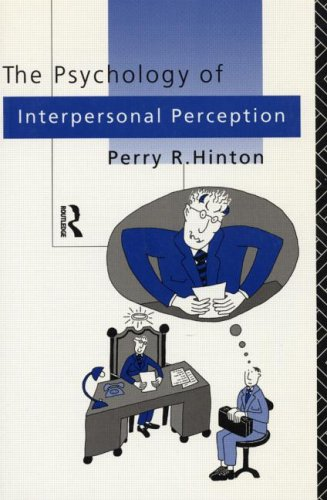 9780415084529: The Perception of People: Integrating Cognition and Culture