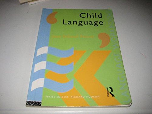 9780415085670: Child Language (Language Workbooks)