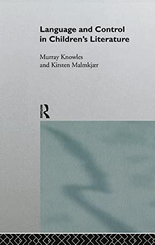 9780415086240: Language and Control in Children's Literature