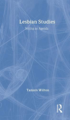 9780415086554: Lesbian Studies: Setting an Agenda