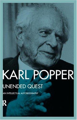 9780415086936: Unended Quest: An Intellectual Autobiography