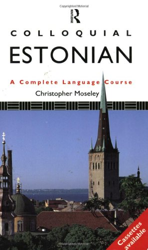 9780415087438: Colloquial Estonian: A Complete Language Course (Book Only)