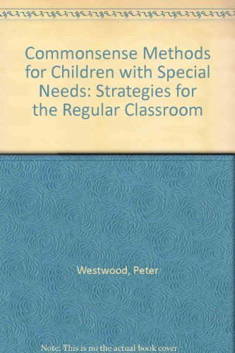 9780415087728: Commonsense Methods for Children with Special Needs: Strategies for the Regular Classroom