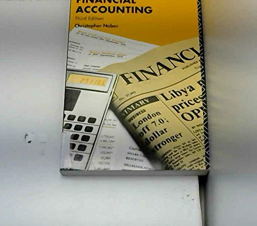 Introduction to Financial Accounting: Nobes