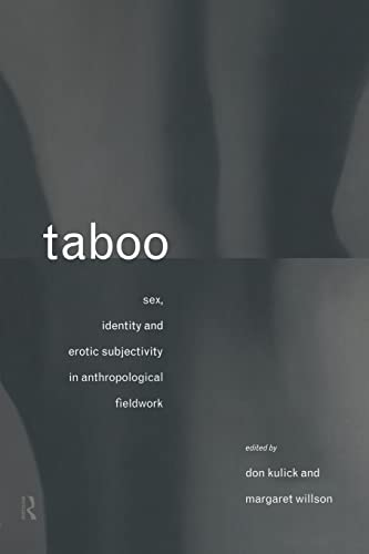 9780415088190: Taboo: Sex, Identity and Erotic Subjectivity in Anthropological Fieldwork